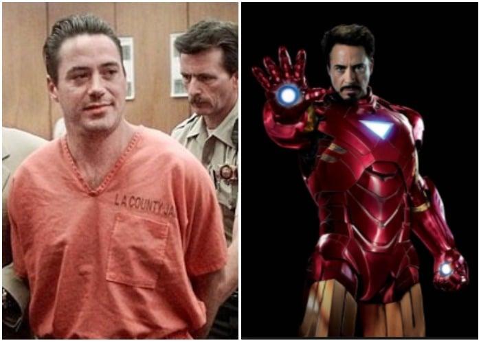 Marihuanero a los 8 años, adicto al crack a los 20, reo a los 30: La salvaje vida de Robert Downey Jr