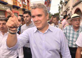Protesta en Buenaventura por la ausencia de Iván Duque en el debate Pacífico