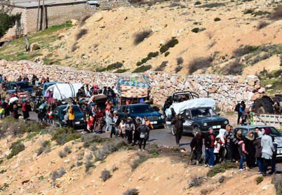 Ejército sirio toma el control de Guta Oriental y Turquía se apodera de Afrin