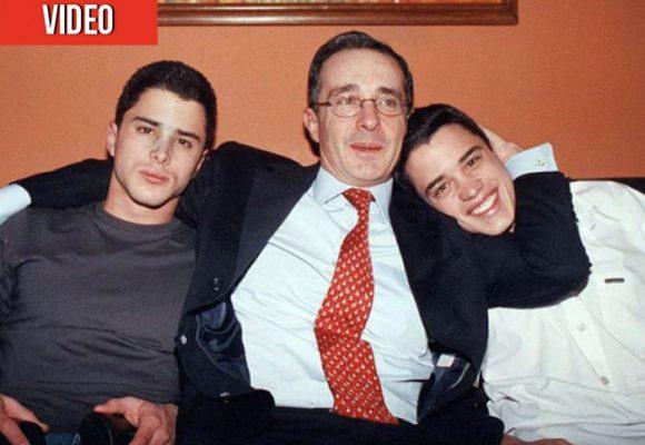 VIDEO: La indignación de Uribe por las acusaciones a sus hijos en el Senado
