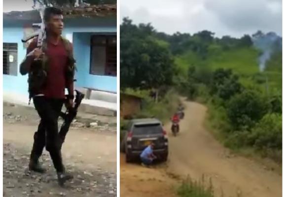 La guerra volvió con toda al Cauca: VIDEO