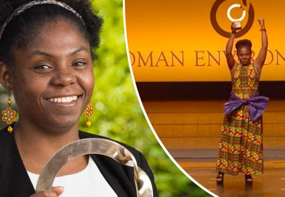 """Soy parte de un proceso que comenzó con mis ancestros traídos en condición de esclavitud"""""""