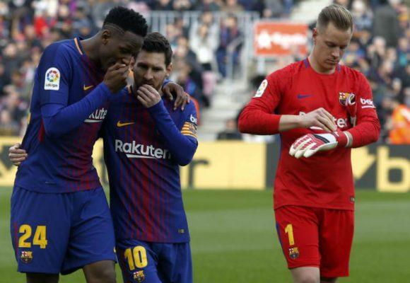 Las razones por las que Yerry Mina no seguiría en el Barcelona