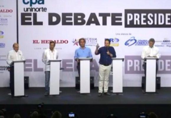 Ganadores y perdedores del caliente debate presidencial