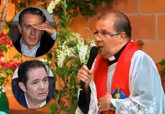El cura que se la tiene montada a Uribe y Vargas Lleras: VIDEO
