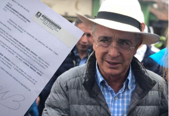 """""""El  señor Areiza nunca fue testigo contra mí, ni contra mi hermano Santiago"""": Álvaro Uribe"""