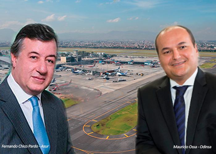 Paisas y mexicanos controlan los principales aeropuertos de Colombia
