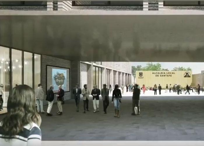 El concurso para construir la alcaldía local de Santa Fe ya tiene ganador