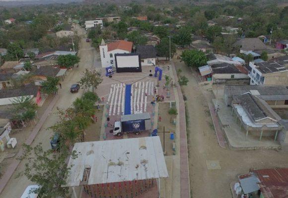 El cine se tomó las calles de San Basilio de Palenque, el primer pueblo libre de América