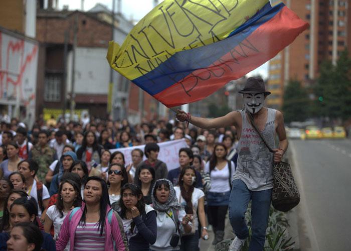En plena coyuntura electoral, los estudiantes vuelven a marchar