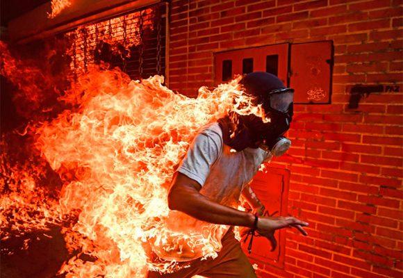 El horror en Venezuela, la mejor foto del año
