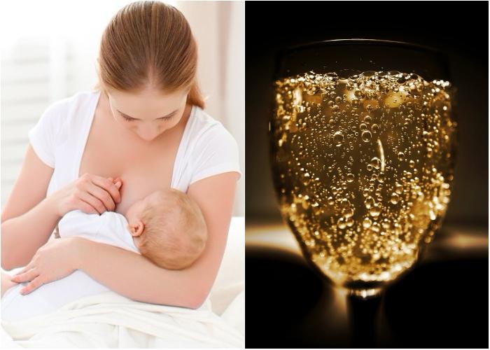 ¿Y ahora promueven bebidas alcohólicas para aumentar la producción de leche materna?