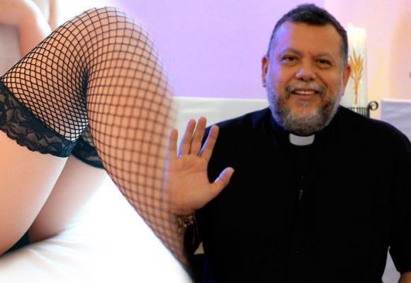 El padre linero por fin sucumbió ante las tentaciones de la carne