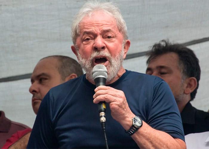 Impactante discurso de Lula antes de su reclusión