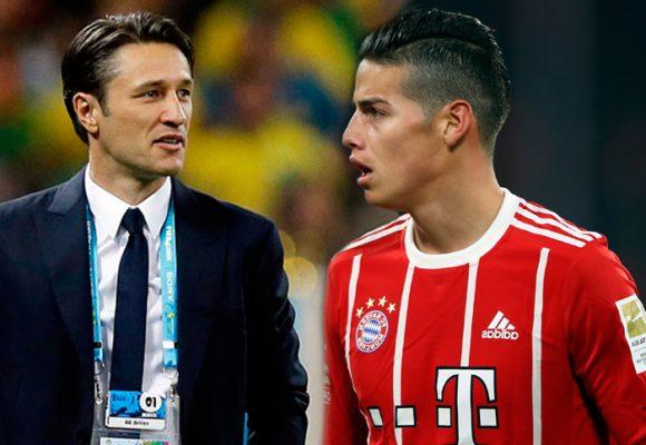 El nuevo enemigo de James Rodríguez en el Bayern Múnich