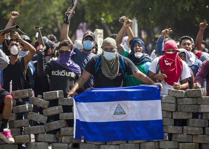 Nicaragua, tan violentamente amarga