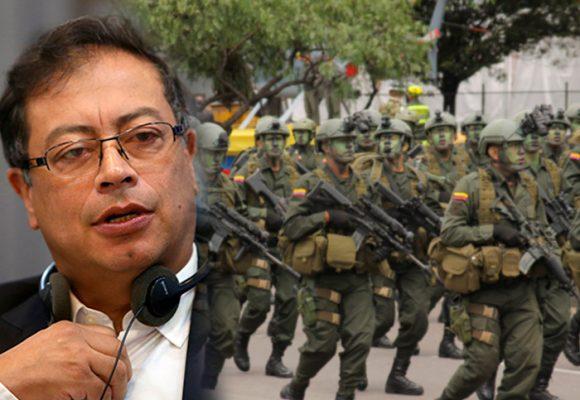 El rechazo a Gustavo Petro por parte de militares y policías