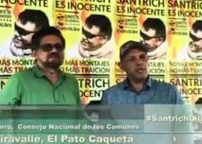 Crece la presión para la libertad de Santrich