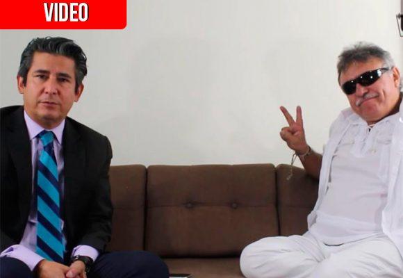 La última entrevista de Jesús Santrich en libertad