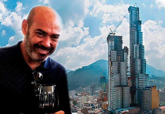 Los enredos del locuaz español detrás del Bacatá, el edificio más alto de Colombia