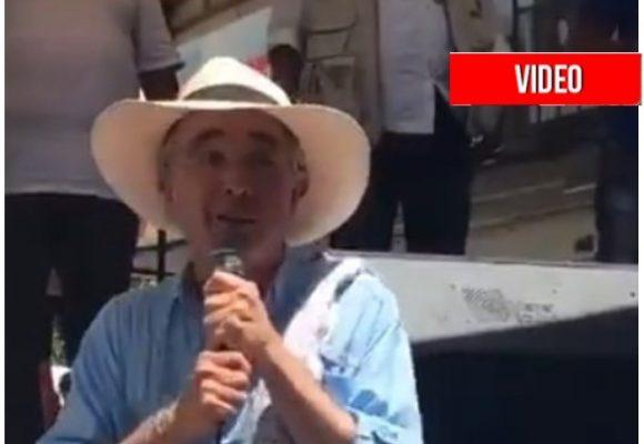 """Si me olvidaron me tiro al Magdalena"": Álvaro Uribe en video"
