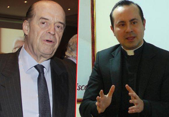 La vaciada de Álvaro Leyva a los dos monseñores que protestaron por el traslado de Santrich