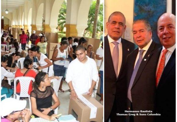 El conteo de votos de las elecciones de Cartagena, en manos de Thomas Greg & Sons