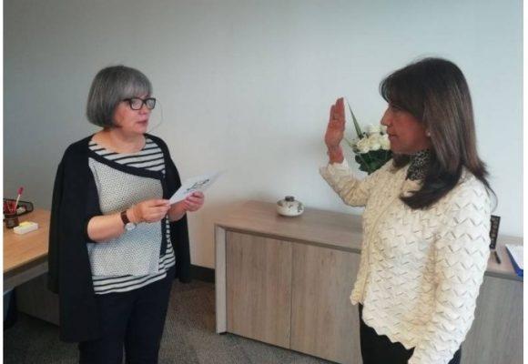 Aterrizaje de la fiscal Martha Lucía Zamora en la JEP