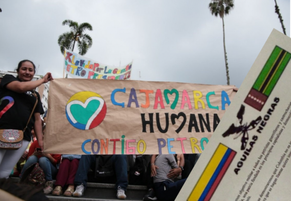"""""""Los petristas guerrilleros y castrochavistas son objetivo militar"""""""