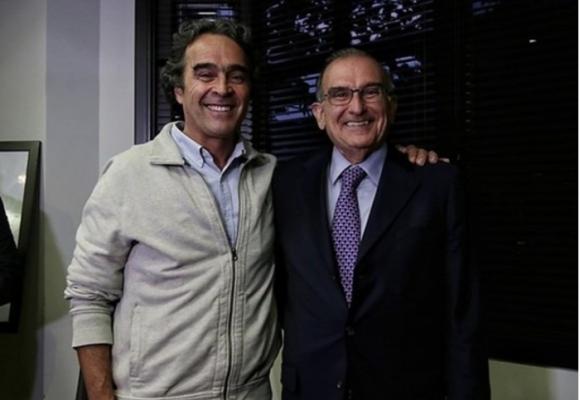 Humberto de la Calle coge de parche a Sergio Fajardo