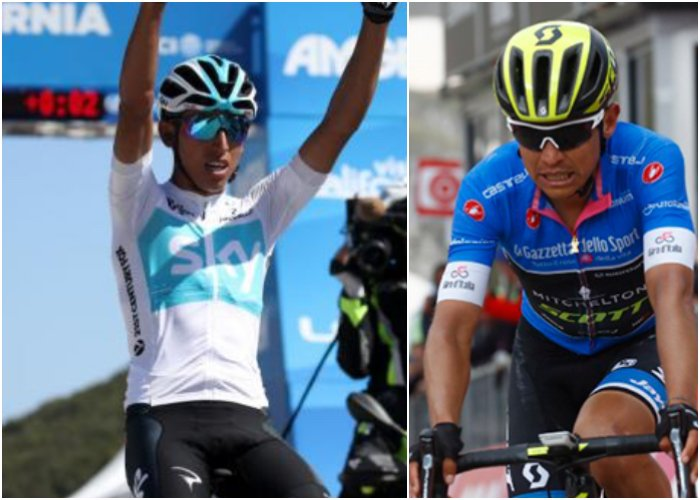 VIDEO: Mientras el 'Chavito' se desinfla en el Giro, Egan Bernal se toma el liderato del Tour de California