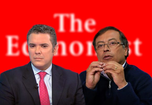 The Economist descalifica a Duque y Petro