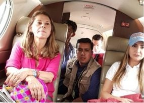 Marta Lucía Ramírez llegó a Cartagena para quedarse con el apoyo de la familia Blel