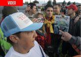 VIDEO: Los petristas que se colaron en el cierre de campaña de Iván Duque