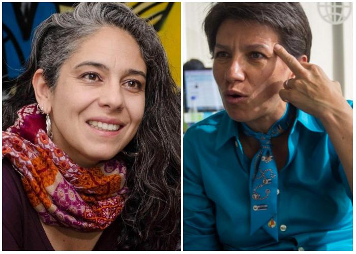 Dura pelea entre Claudia López y Maria José Pizarro