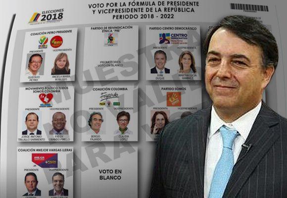 ¿Pasará la prueba de estas reñidas elecciones el registrador Juan Carlos Galindo?