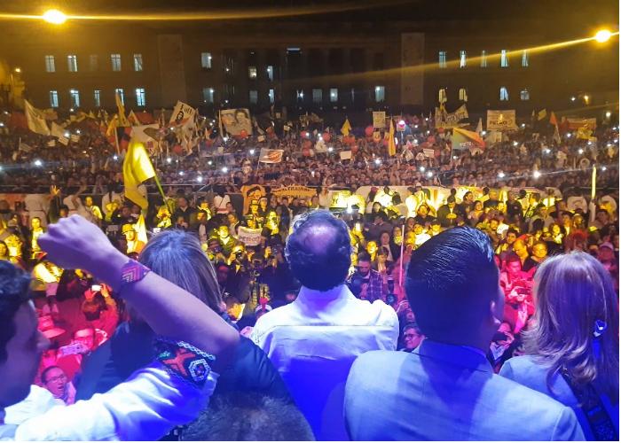 Lo que nadie vio del sorprendente cierre de Petro en Bogotá
