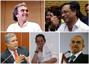 Duque, Vargas Lleras y De la Calle se quedan sin plata en la recta final