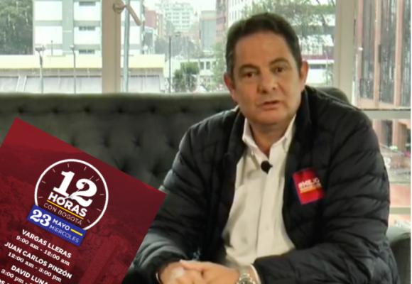 Maratón de 12 horas seguidas con Germán Vargas Lleras hablando