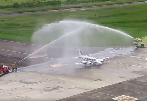 Se reactiva el aeropuerto de Cartago