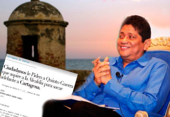 El millonario botín de Cartagena con el que Quinto Guerra se quiere quedar