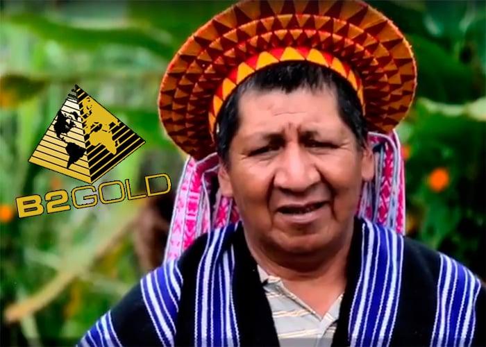 Un taita del Putumayo enfrentado a la minera de oro más grande del mundo