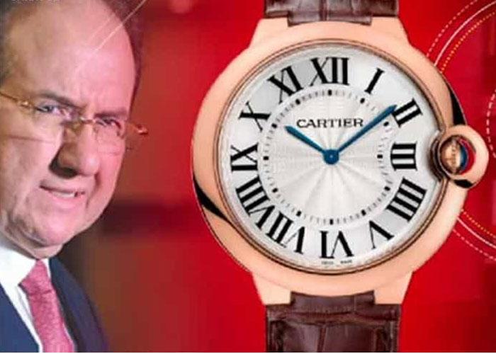 ¡El reloj de Bustos!