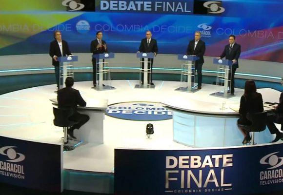 El reality show de la política colombiana