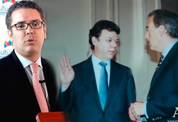 Los días de Iván Duque como pupilo de Santos