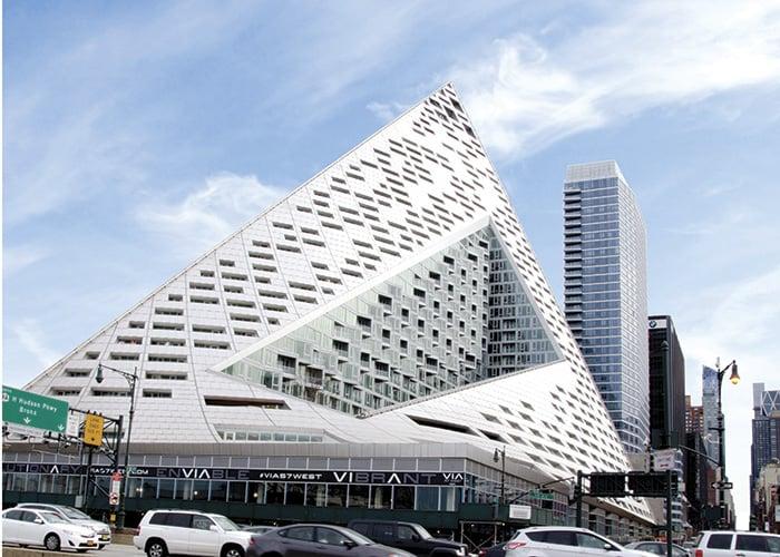 La ventanería del Grupo Tecnoglass llega al proyecto arquitectónico Via 57 West en New York