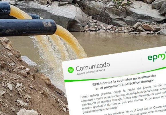 EPM hace un llamado a las comunidades del proyecto Hidroituango