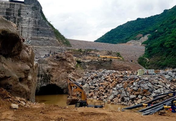 Hidroituango despeja riesgos por taponamiento en su construcción