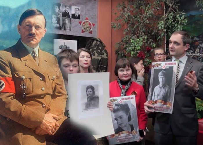 VIDEO: Los comunistas que acabaron con Hitler celebraron en Bogotá