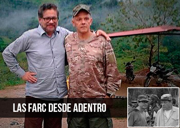 Por las montañas de El Pato, refugio de Iván Márquez y El Paisa